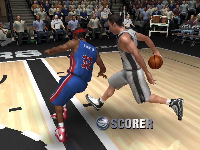 NBA LIVE 2006截图1