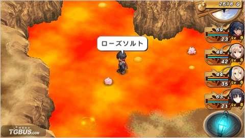 PSP 灼烁之心