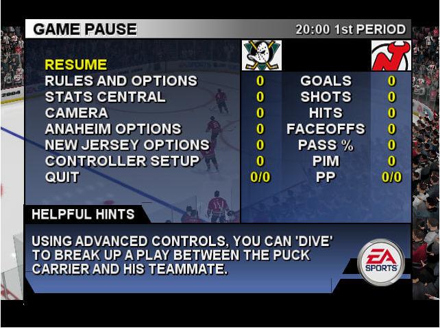EA冰球2004截图0
