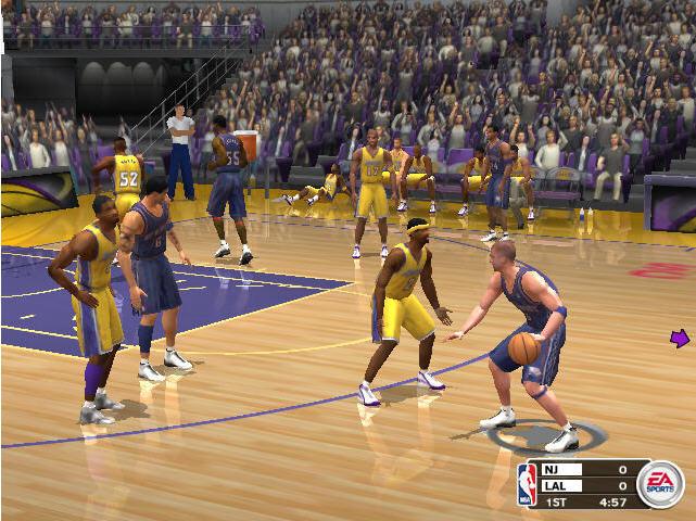 NBA Live 2003截图2