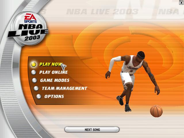 NBA Live 2003截图1
