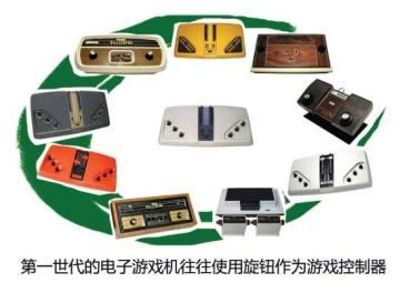 第一世代电子游戏机往往运用旋钮做遥控器
