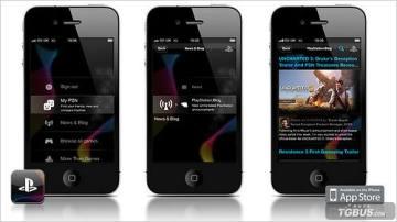 """索尼官方PlayStation的免费APP应用程序""""Official PlayStation App""""将很快登陆iPhone以及Android手机平台"""
