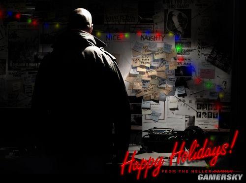 《虐杀原形2》秃顶主角圣诞海报颁布