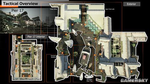 《孤岛危机2》最新地图、艺术图及设定图公布