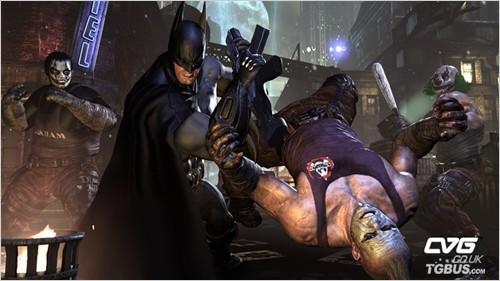 蝙蝠侠:阿甘城