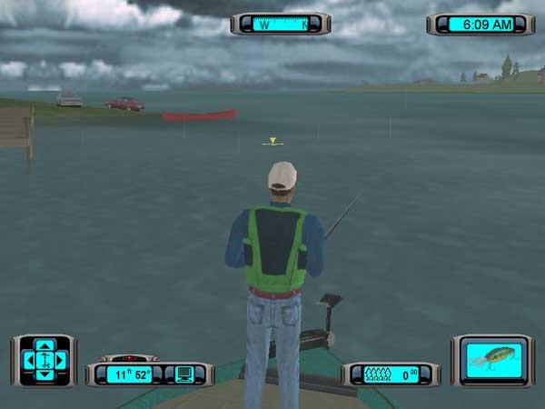 专业钓鱼大赛2003截图2