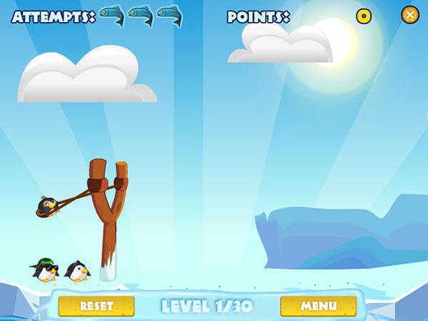 愤怒的企鹅截图1