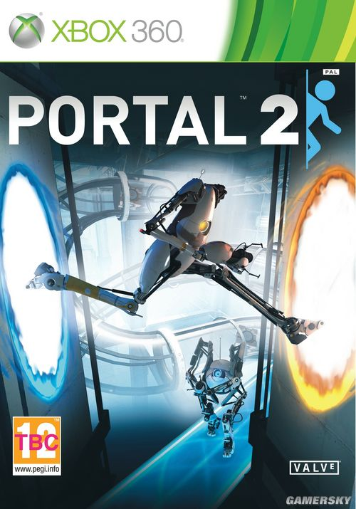 Valve大作《传送门2》三平台封面正式公布