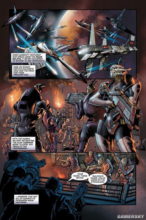 BioWare公布《质量效应:进化》漫画预览