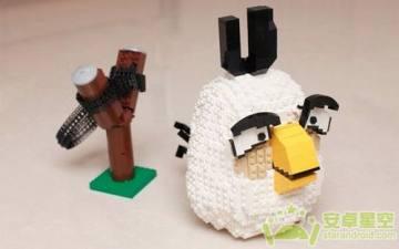 《愤慨的小鸟》版乐高魔术塑料积木亮相
