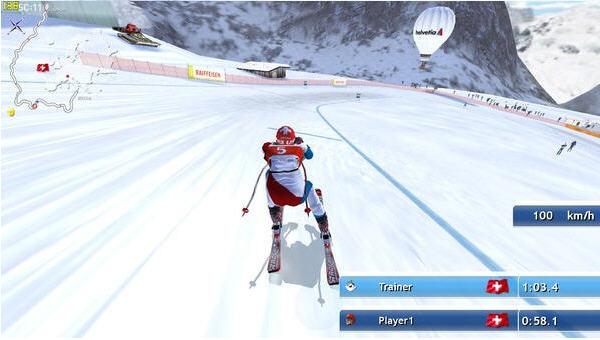滑雪挑战2011截图0