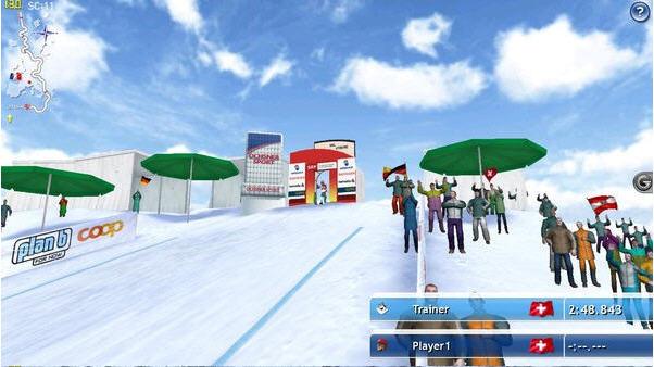 滑雪挑战2011截图1