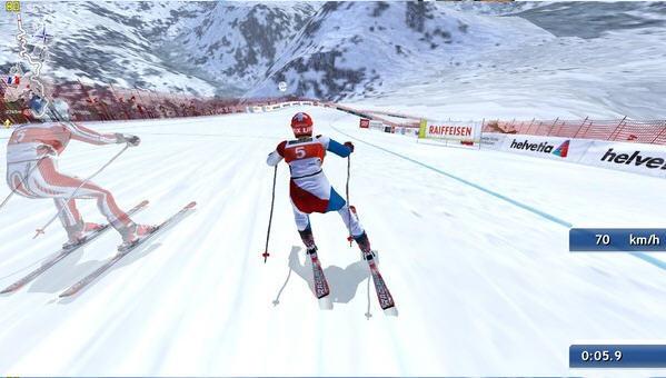 滑雪挑战2011截图2