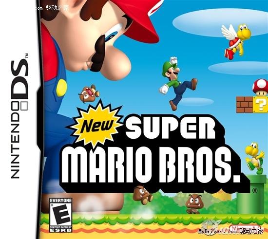 首破600万《新超级玛丽》成日本最畅销DS游戏