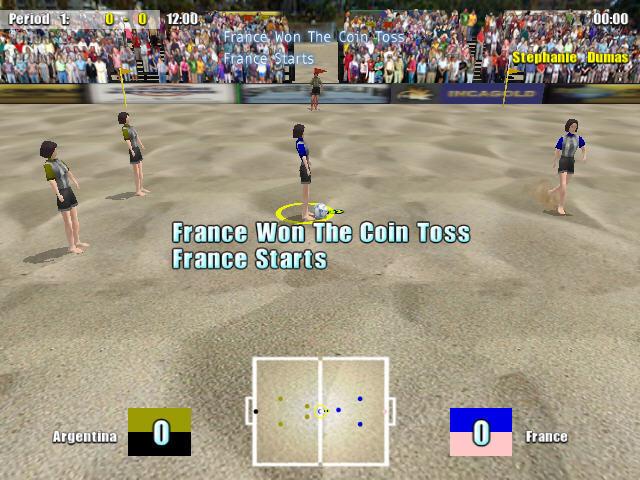 沙滩足球截图1