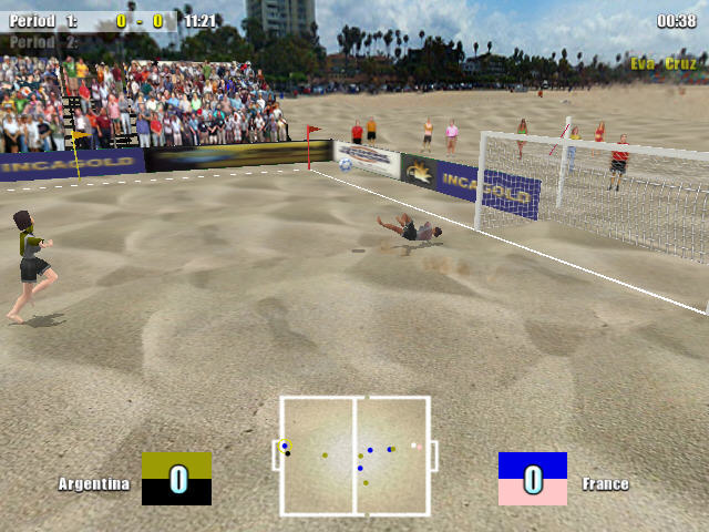 沙滩足球截图2