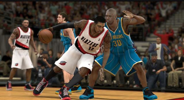 《全美职业篮球联赛2K12》NBA 2K12截图2