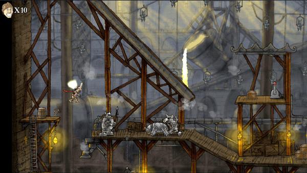 骑士勇闯摩天城堡截图1