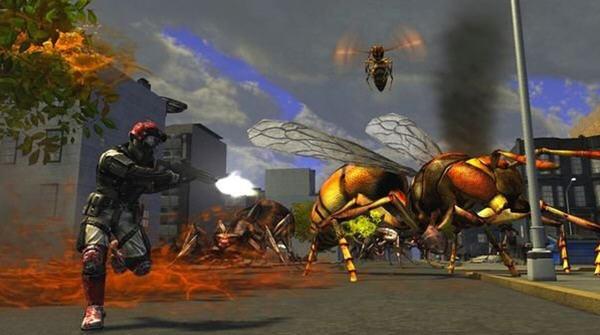 地球防卫军之决战昆虫截图0