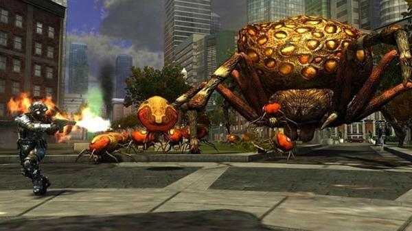地球防卫军之决战昆虫截图1