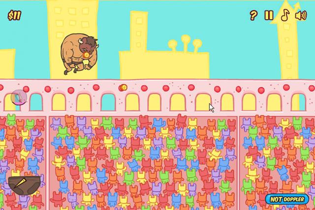 野牛大战姜饼猪截图0