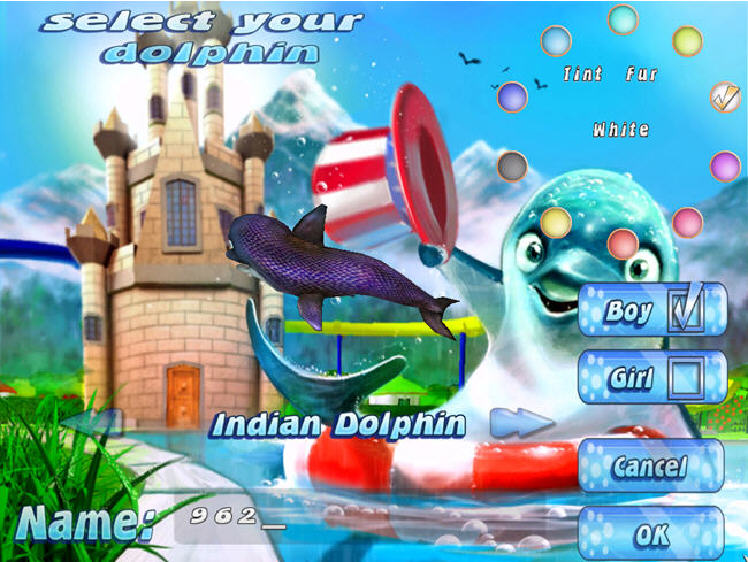 虚拟水族宠物:海豚截图0