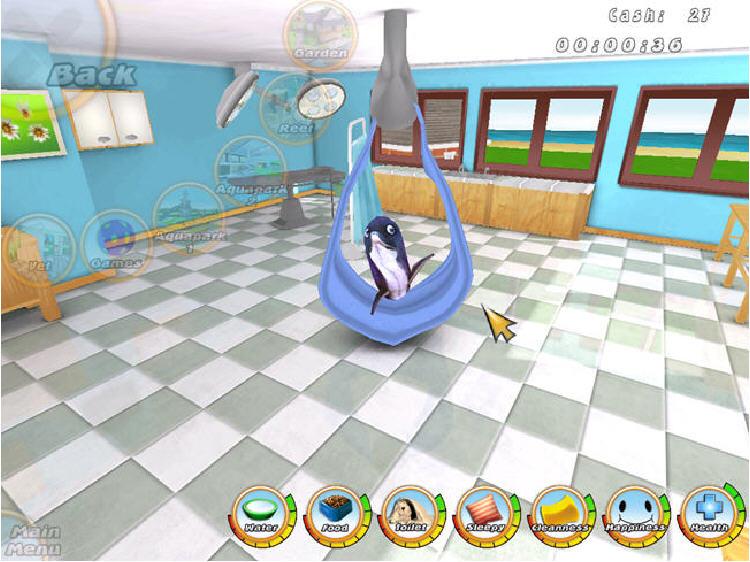 虚拟水族宠物:海豚截图1