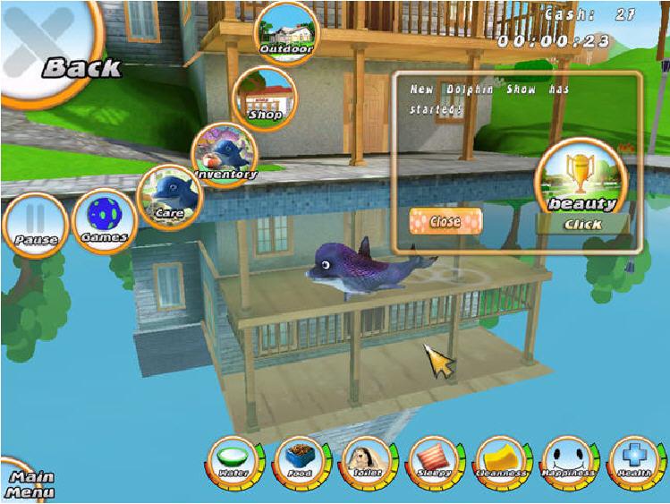 虚拟水族宠物:海豚截图2