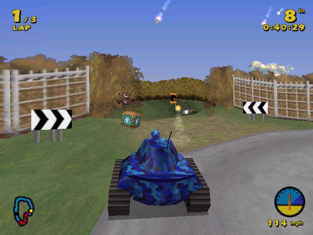 坦克赛车截图2