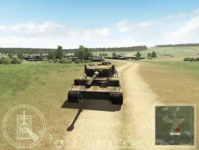 二战坦克:T-34对虎式截图0