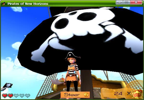 新地平线的海盗截图0