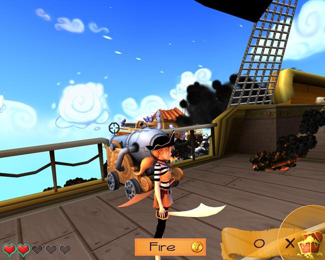 新地平线的海盗截图1
