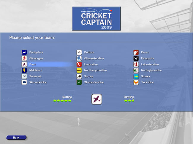 国际板球经理2009截图1
