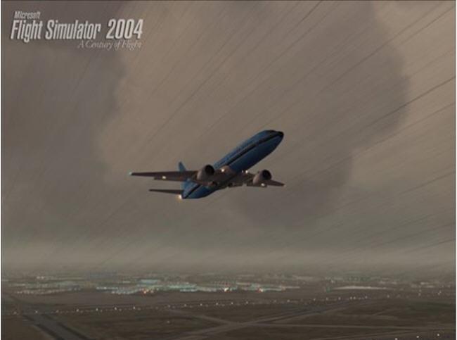 微软模拟飞行2004飞行世纪截图0