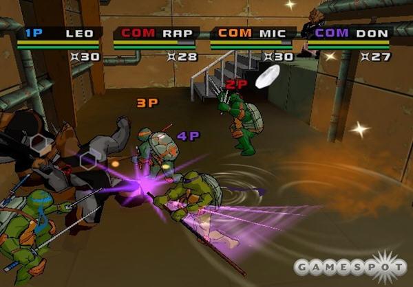忍者神龟3:变种格斗截图0