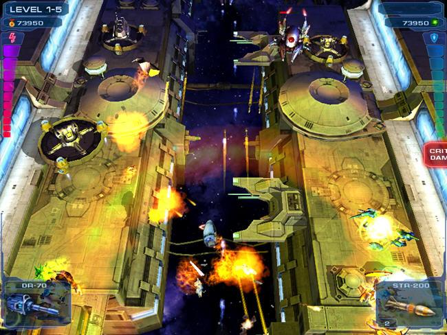 卷轴太空射击游戏截图2