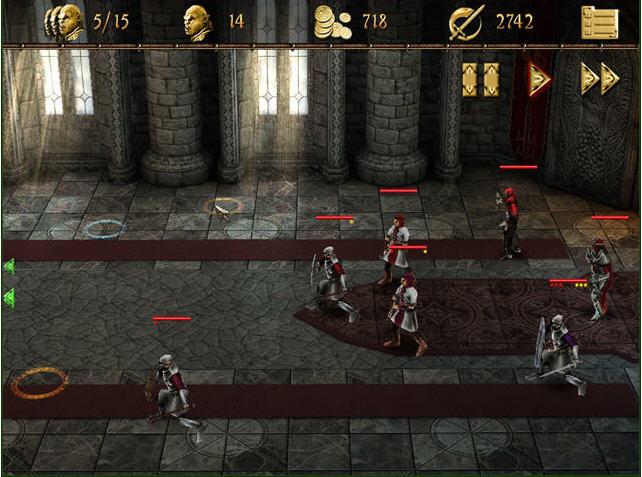 两个世界2:城堡防御截图0