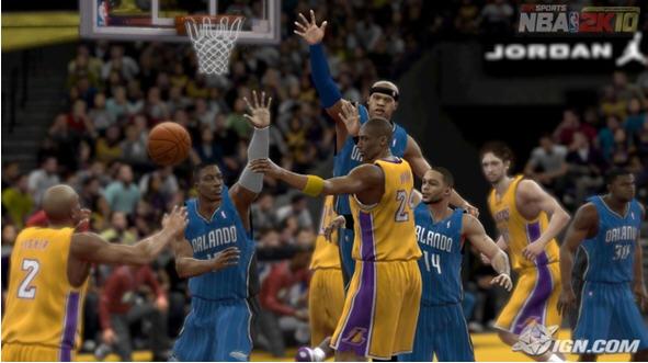 NBA2k10截图1
