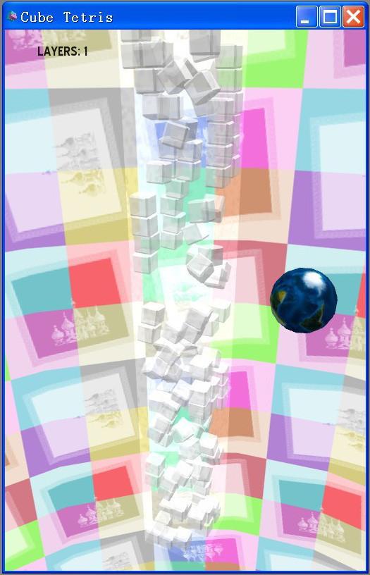 3D版俄罗斯方块截图0
