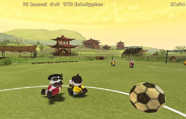 疯狂熊猫足球截图0