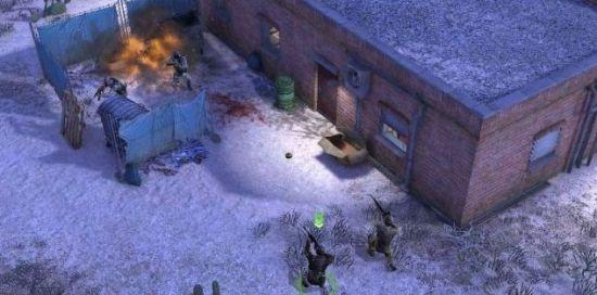 雪地中的室外作战