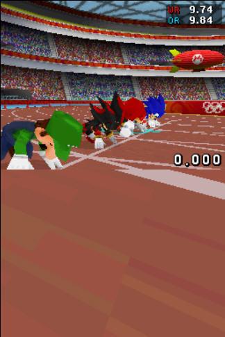 马里奥与索尼克在北京奥运会截图1