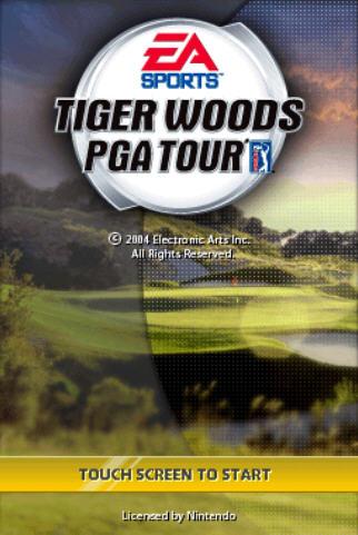 老虎伍兹PGA高尔夫球巡回赛截图0