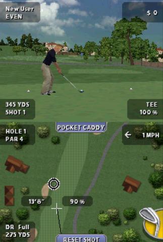 老虎伍兹PGA高尔夫球巡回赛截图1