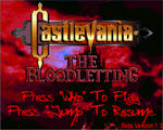 恶魔城:血液解放(Castlevania The Bloodletting)