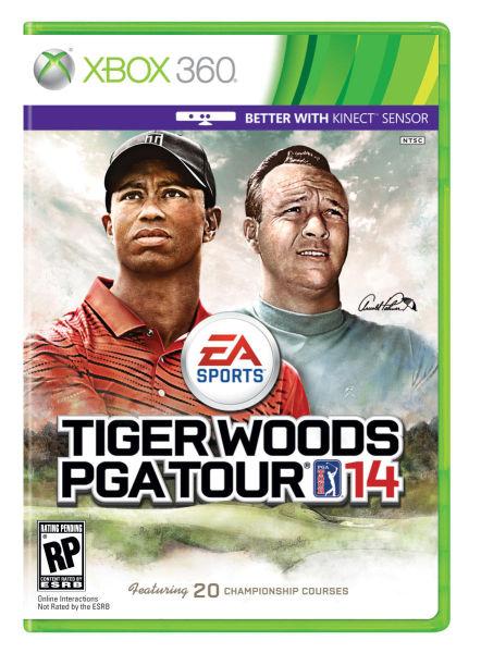 伍兹在EA体育推出的最新一期游戏(14期)