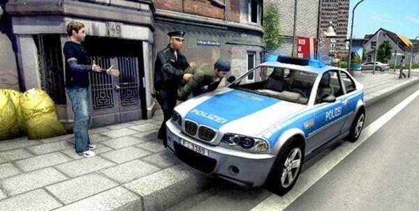 当警察 开警车 抓小偷截图0