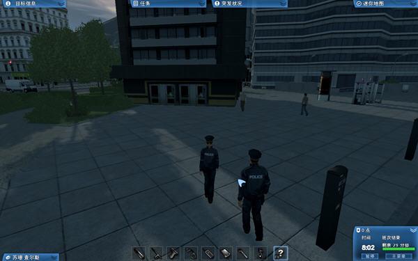 当警察开警车抓小偷截图1