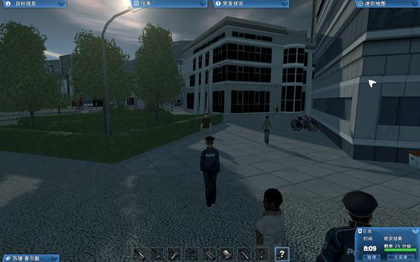当警察开警车抓小偷截图2